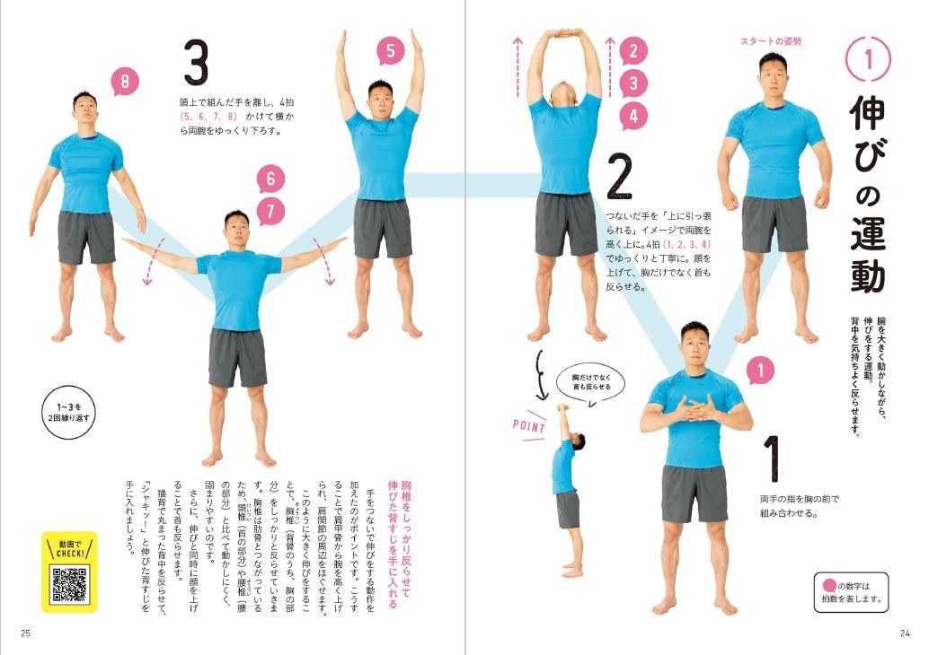 超ラジオ体操「伸びの運動」
