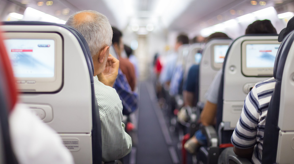 Photo of For those who beat the seat in the aircraft |