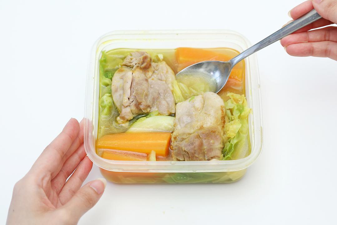 スープカレーの手順③