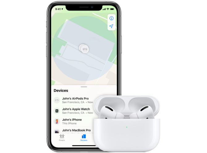 find-my-app-airpods