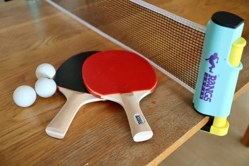 Photo of Hit the ball with the resentment that cannot escape from the house! Table tennis set to attach to desk is fun