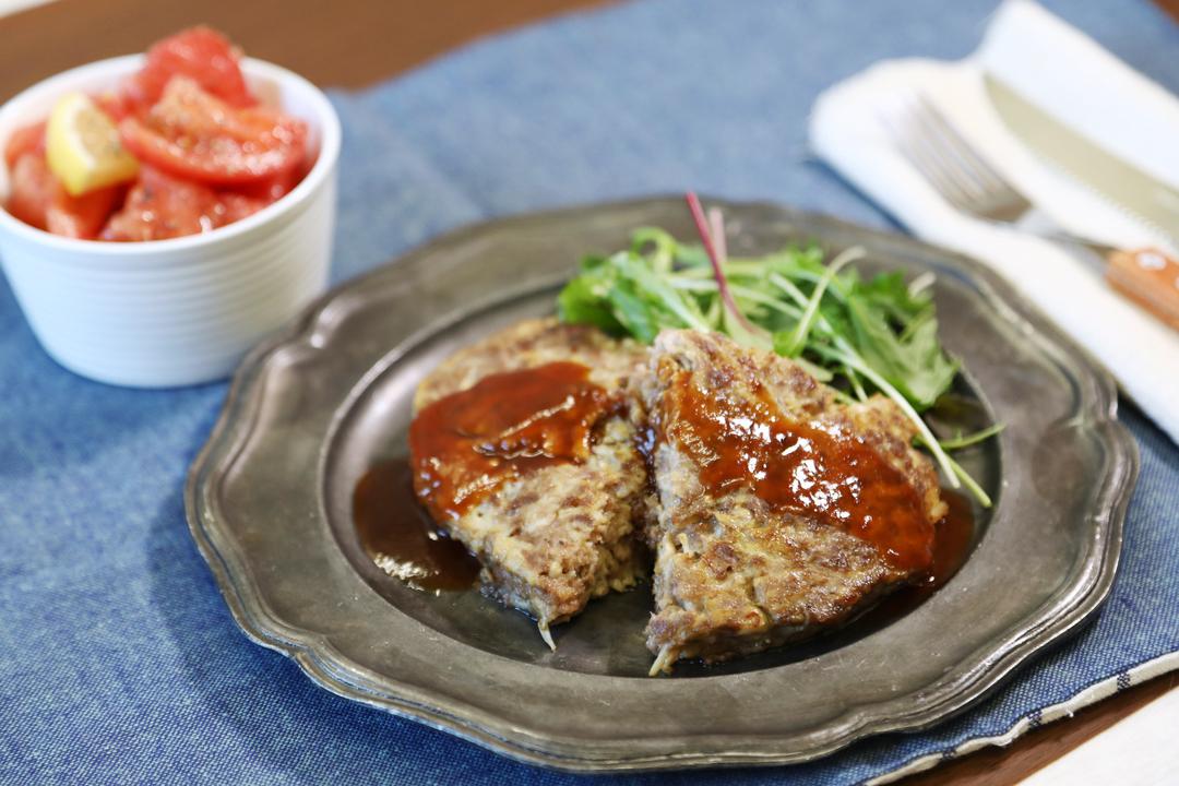 主菜と副菜「トマトの塩レモン和え」