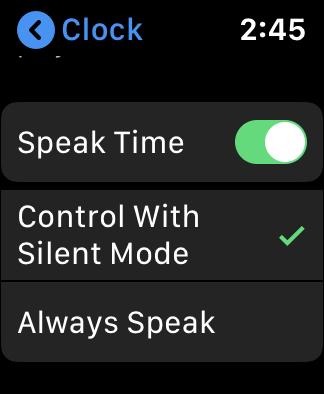 AppleWatchSpeakTime