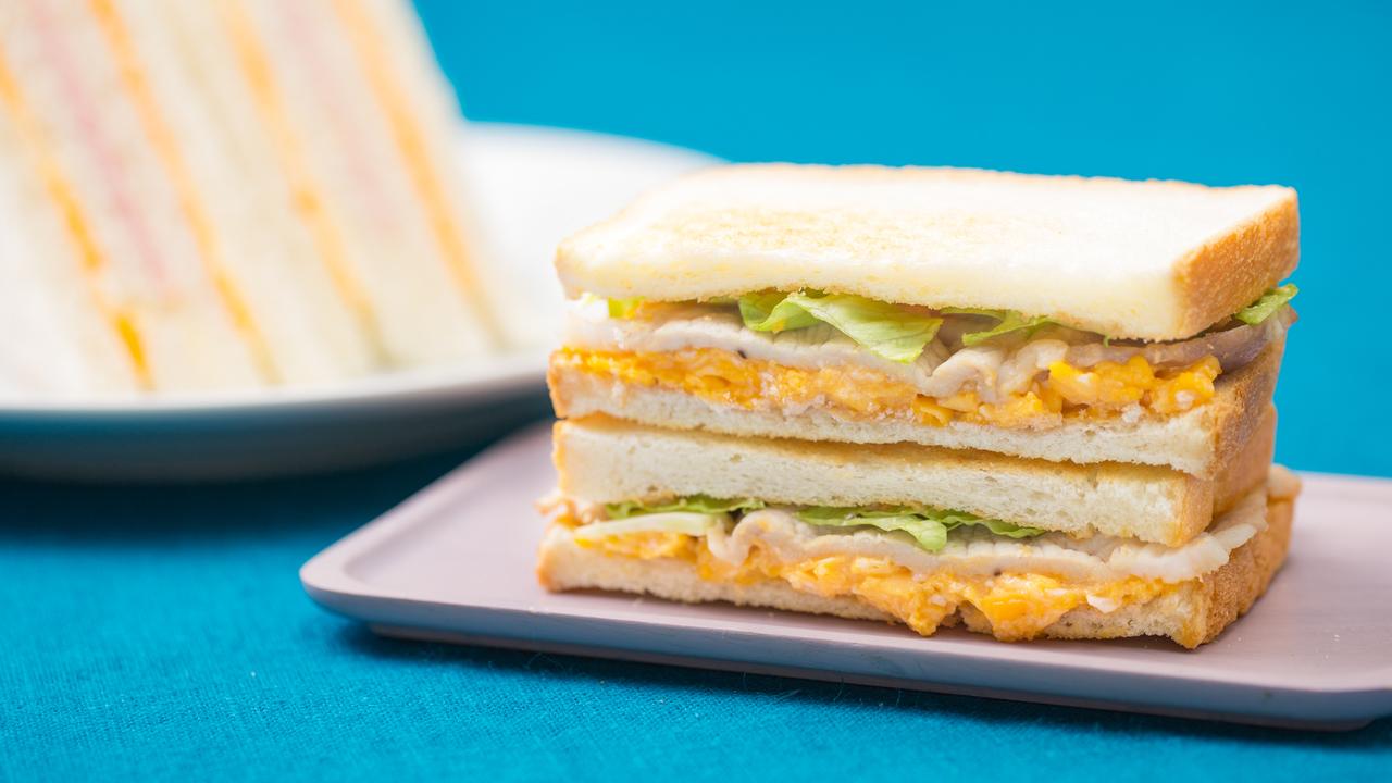 台湾の定番サンドイッチ