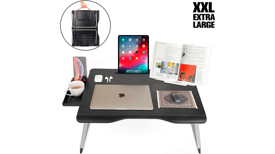 Photo of A compact multi-functional table that is ideal for home work. Also on your child's study desk!