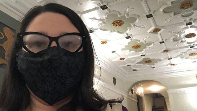 マスク 眼鏡