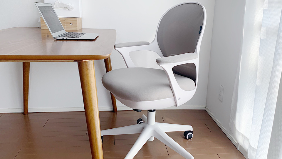 Photo of An office chair that helps you work at home. Excellent design and fits well with the interior!
