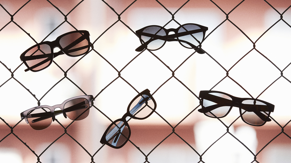 Photo of Five sports-friendly sunglasses. Featured work that combines fashion and functionality