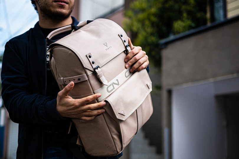 """Photo of The popular backpack """"C1N TYPE-II"""" that attracts more than 17 million yen"""