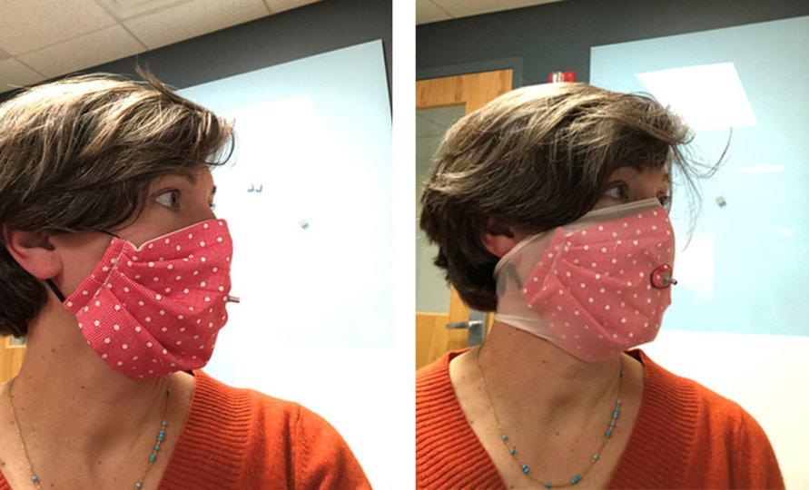 手作り マスク ストッキング