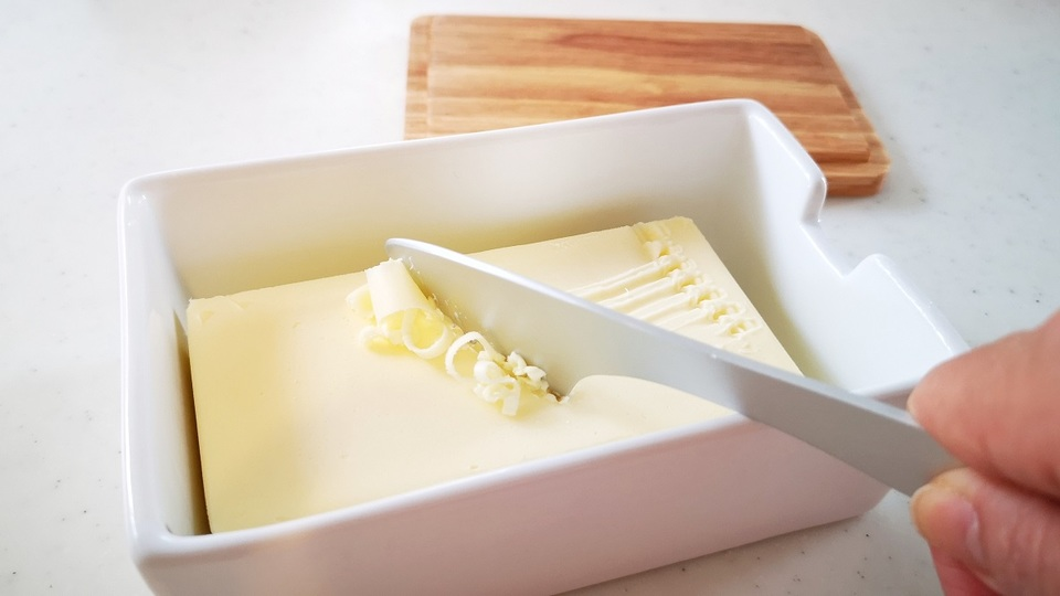 Photo of The butter case, which helps the butter to melt easily, was extremely convenient to accompany the toast.