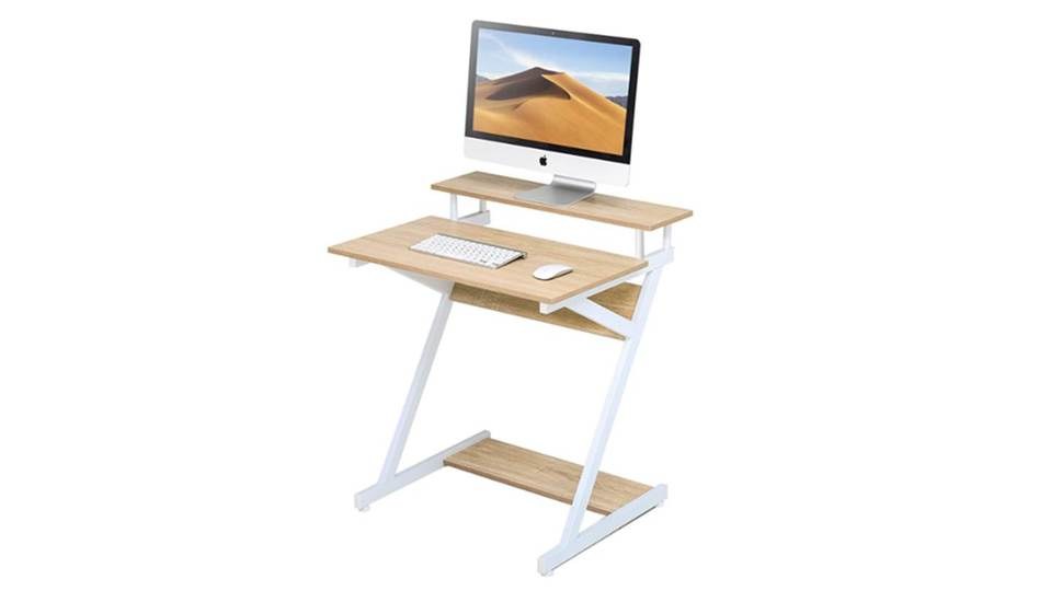 Photo of Work from home will be faster! Simple computer desk with high stability and functionality