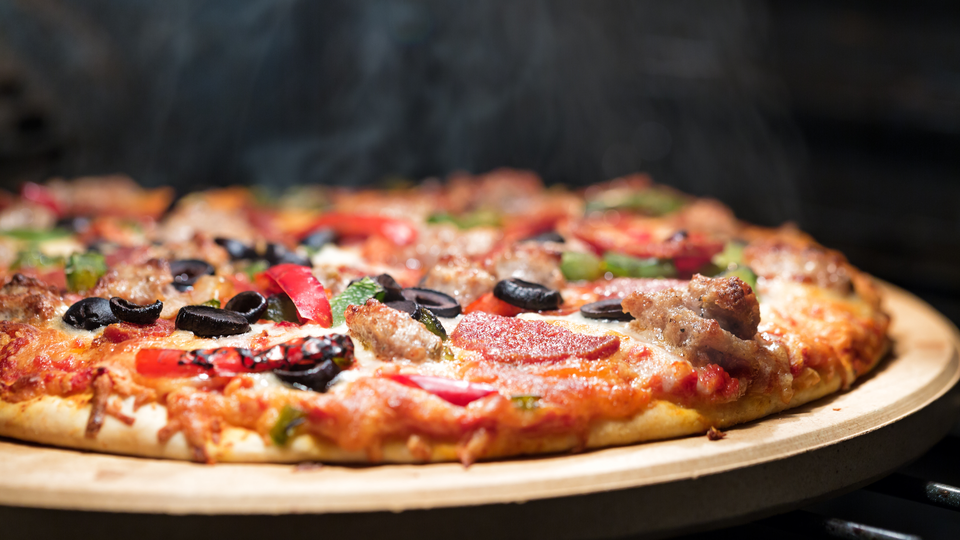 Photo of 6 ways to make frozen pizzas even more delicious with honey and ham
