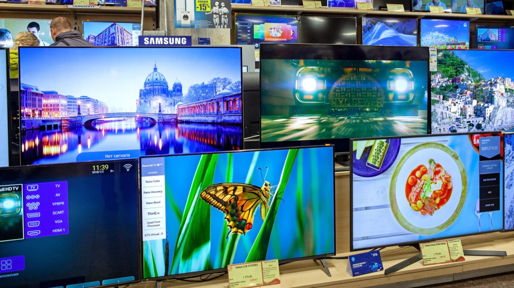 テレビ売り場