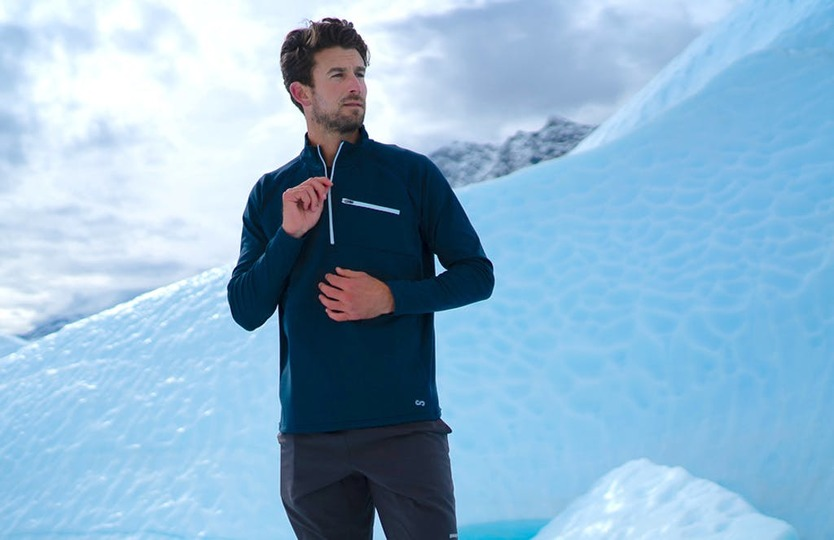 Photo of Thin, light and warm. Apparel using high-performance materials approved by NASA started a campaign