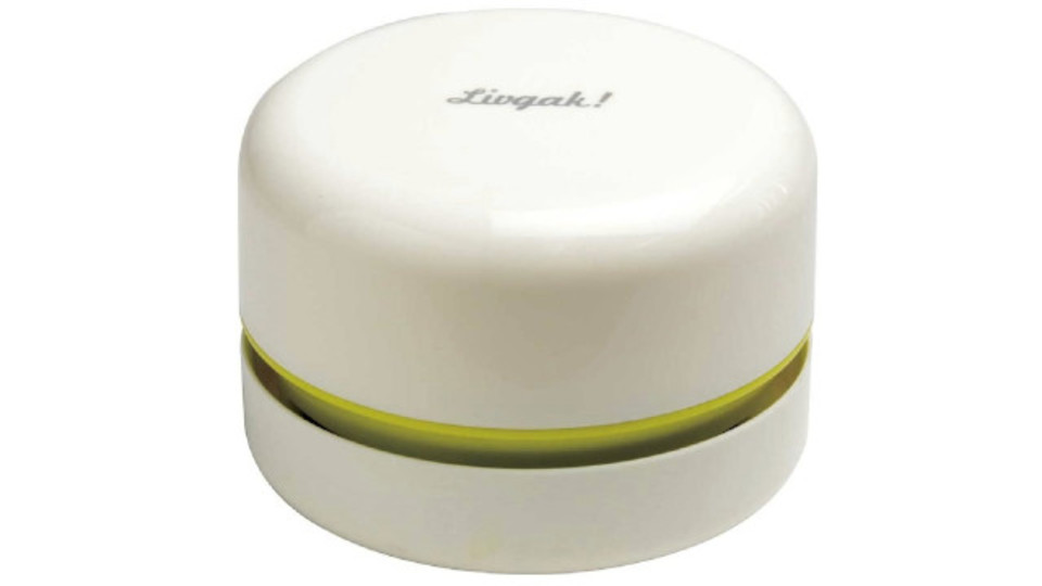 Photo of A compact tabletop cleaner that can be used quickly. Exhaust air flows upward, so dust and dust will not rise