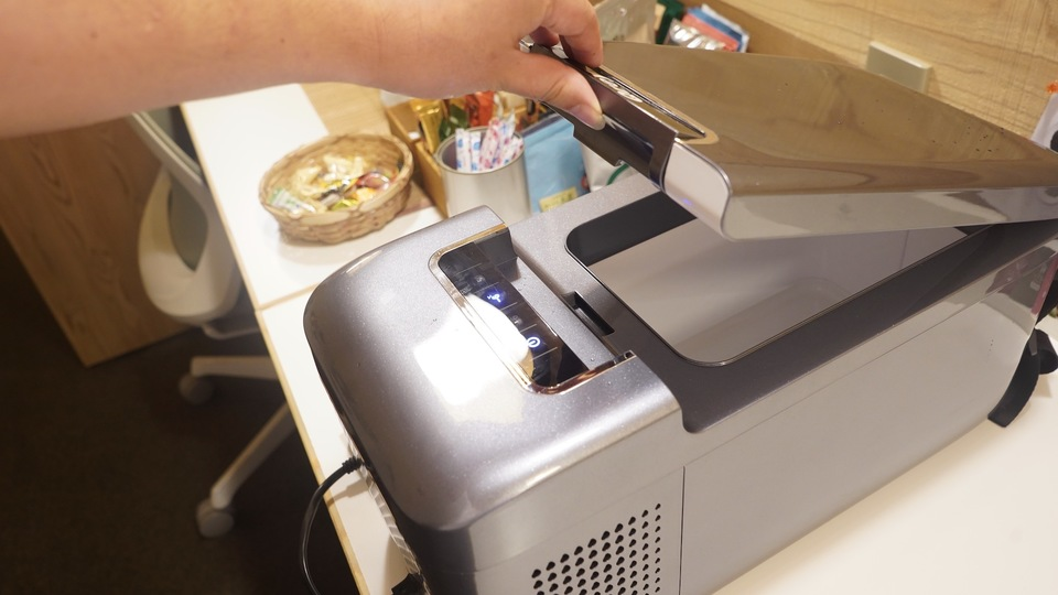 """Photo of I tried using the portable refrigerator """"Qrey/T6"""""""