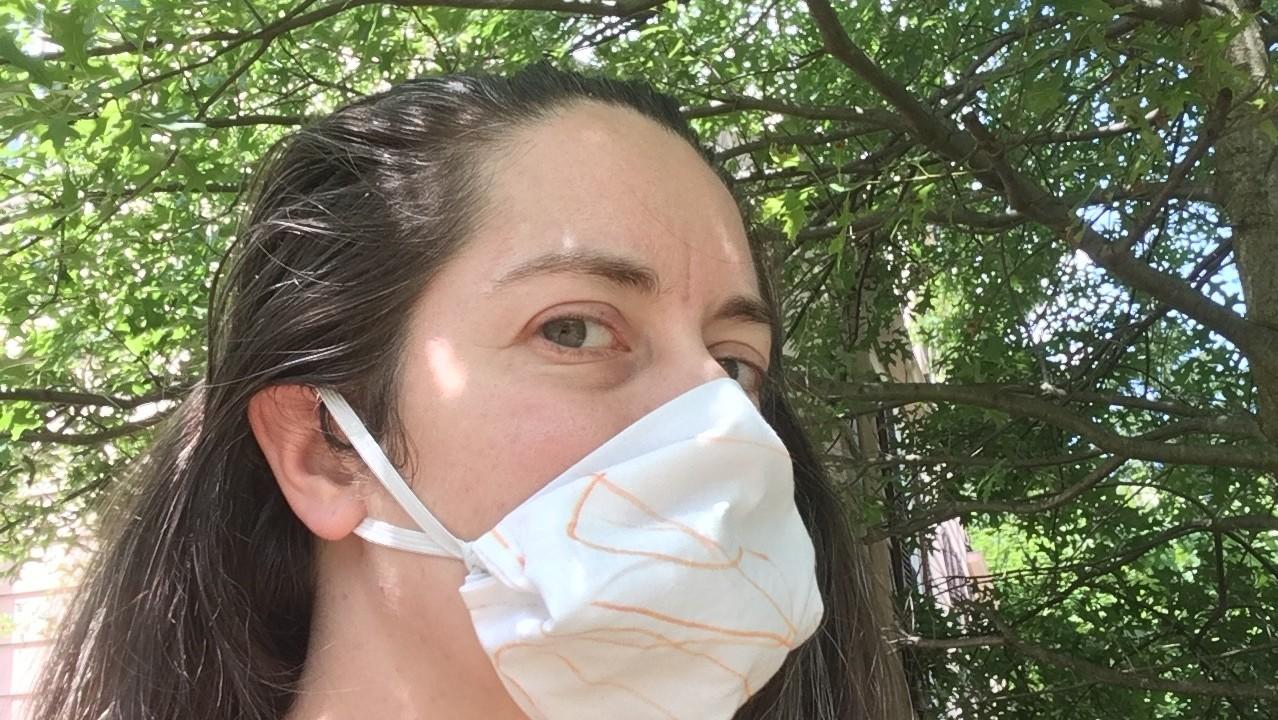 マスク 横 隙間