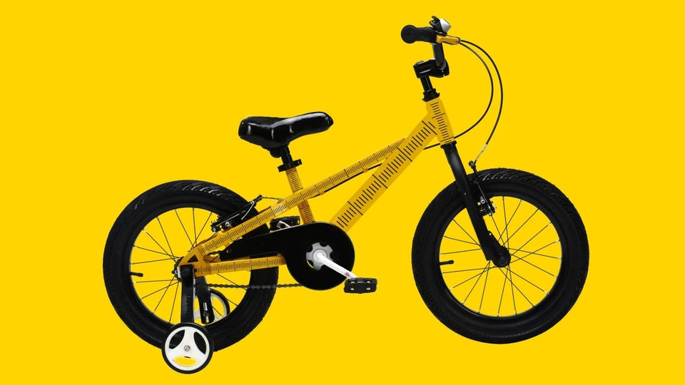 Photo of Not only inches. Estimated size and measurement method for choosing a children's bicycle online