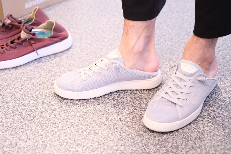 Photo of I tried on sneakers that can also be slip-ons with one pair 2way!?