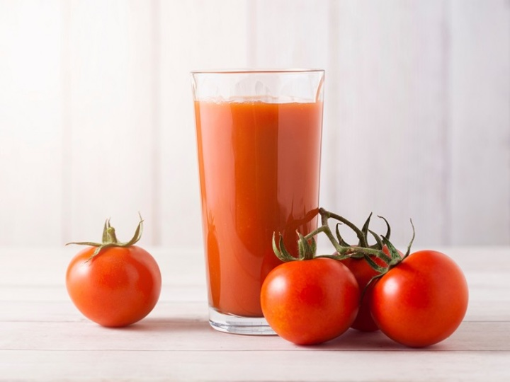 Photo of Measures against heat stroke easily. Arrangement of a little addition of tomato juice recommended by a doctor