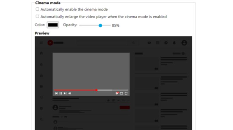 Enhancer for YouTube