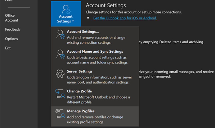 manage-outlook-profiles