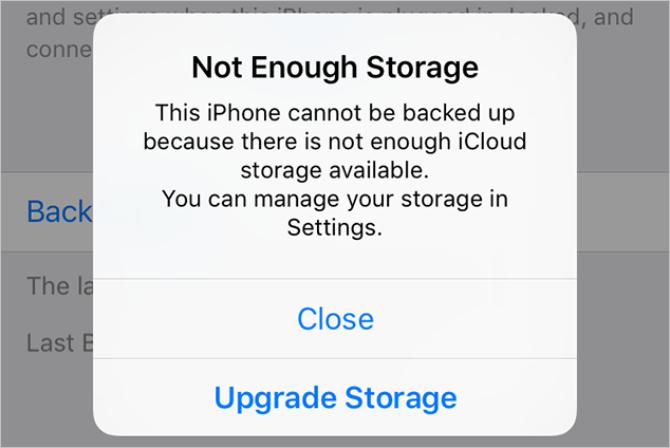 iCloudストレージが足りない