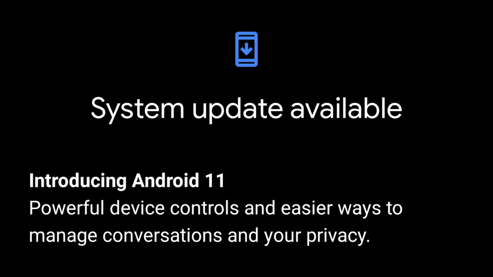 Android 11をインストール