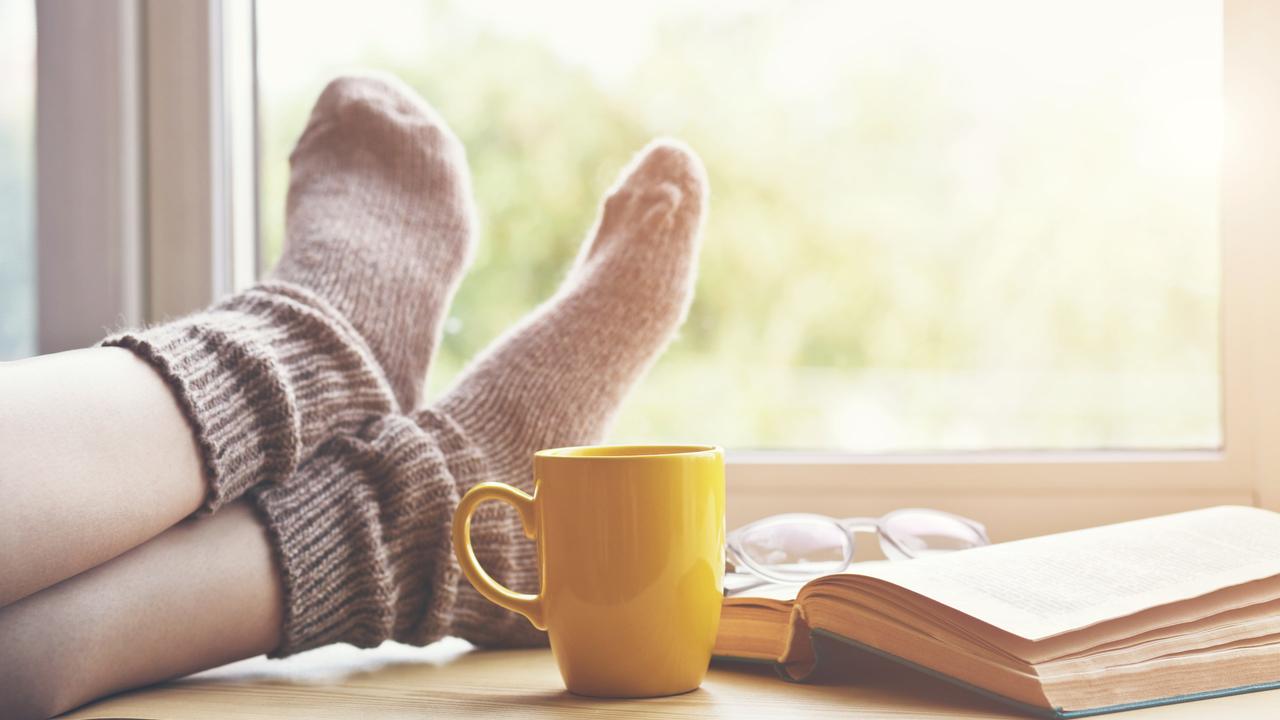 朝のコーヒーと読書