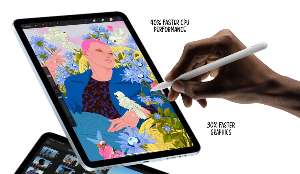 iPad Air 4とApple Pencil