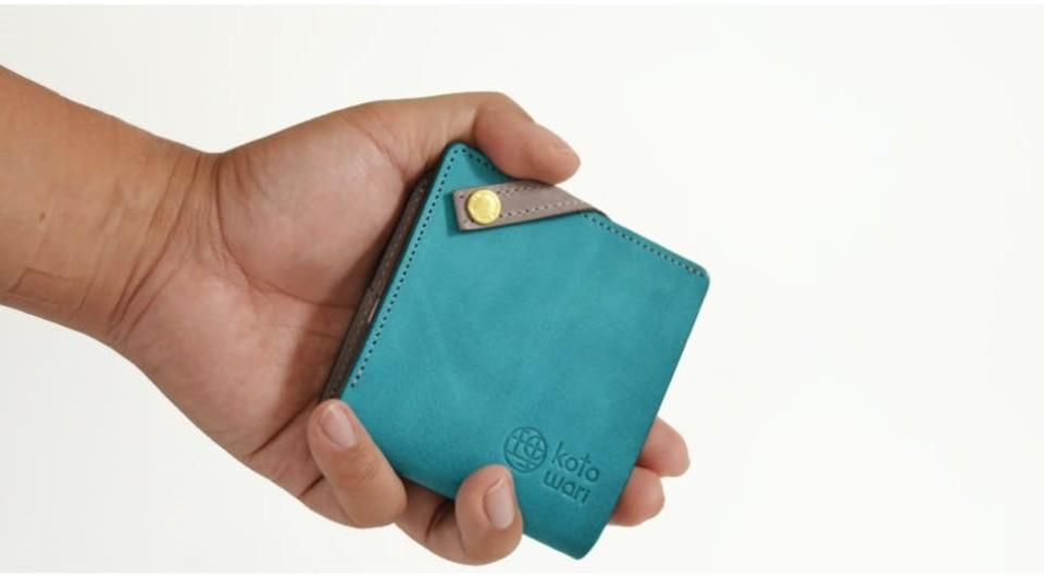 薄型でコンパクト。新時代のレザー財布「理 kotowari mini」