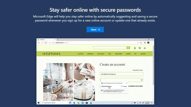 パスワード 保存 edge