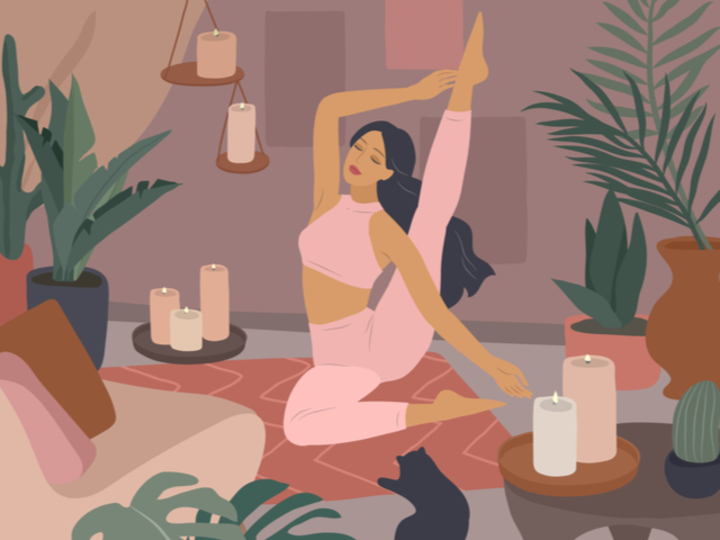 「休む」のが苦手な人に。休息のヨガでストレスを解き放つ方法