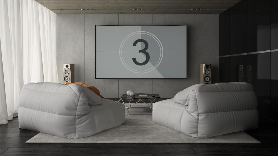 場所を取らず、ホームシアターを簡単に開設する3つのアイデア