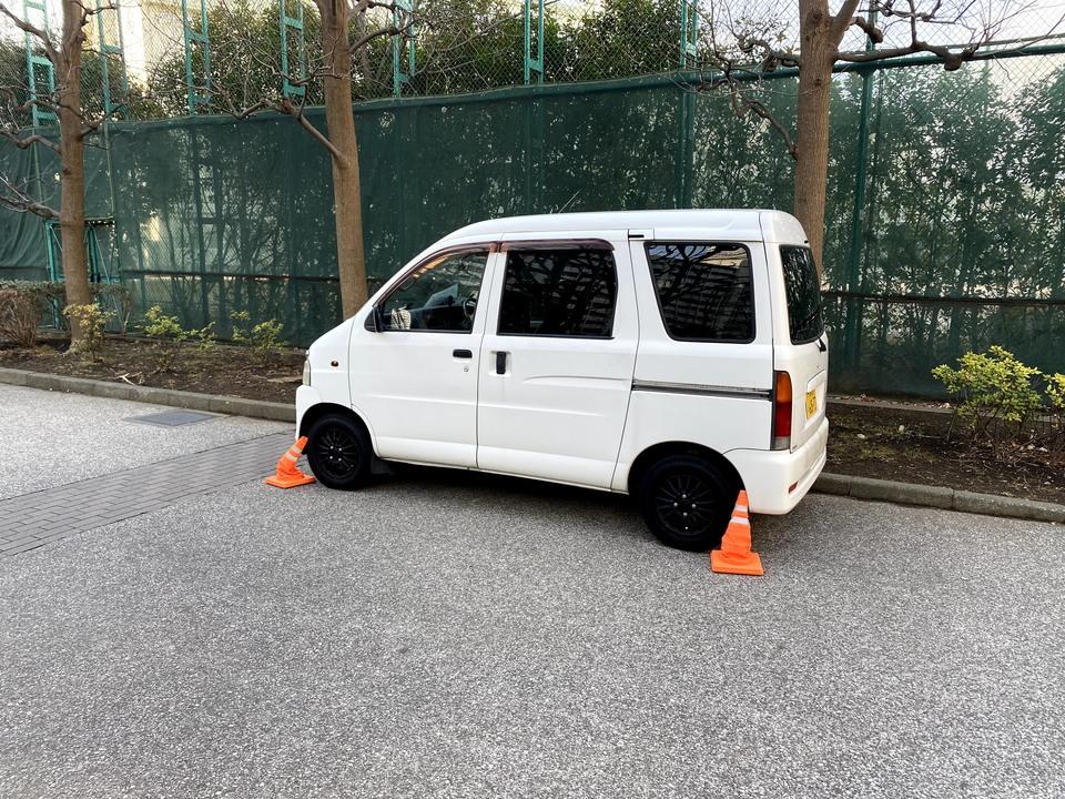 蒲田の動けない車