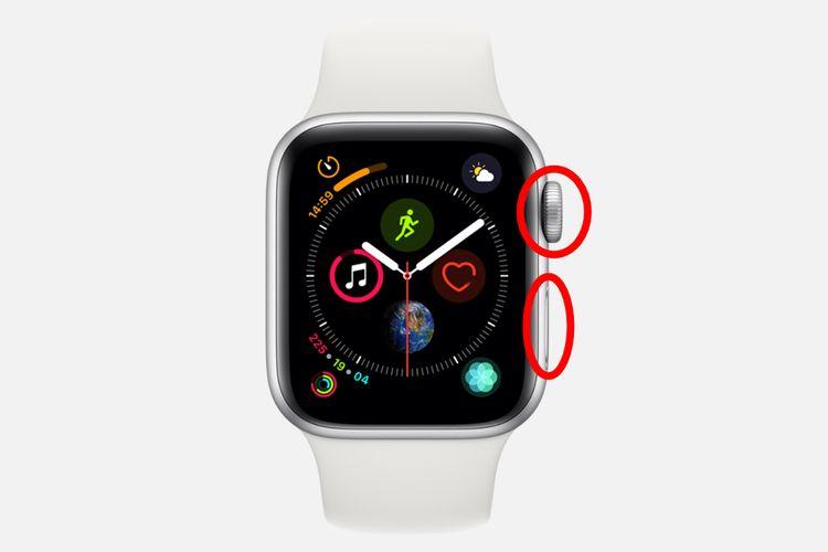 Apple Watchを強制再起動
