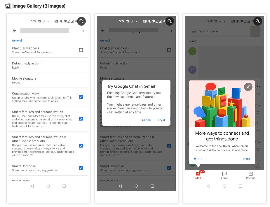 Gmailアプリ設定方法
