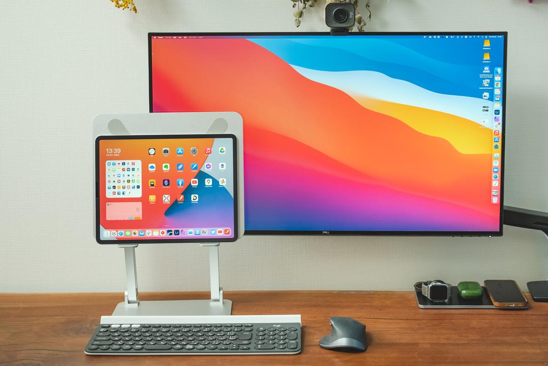 iPadとモニター