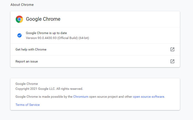 GoogleChromeについて