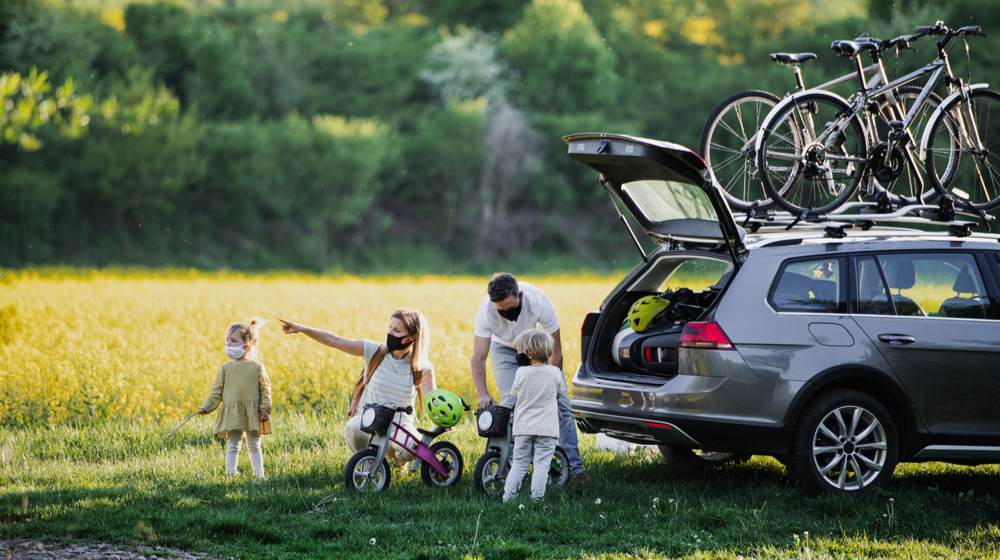 家族で自転車ツアー