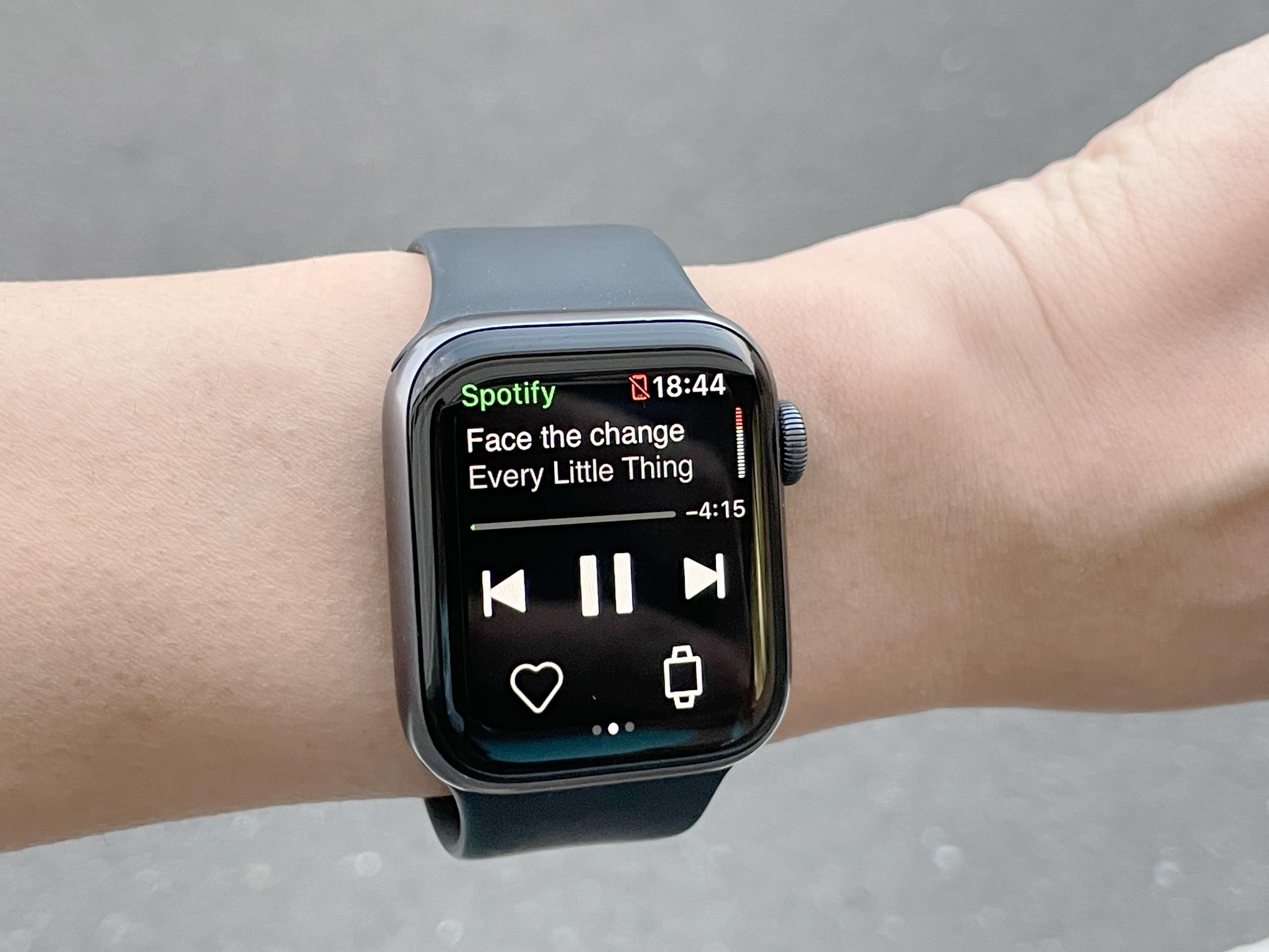 iPhone不要!Apple WatchでSpotifyのオフライン再生を使ってみた