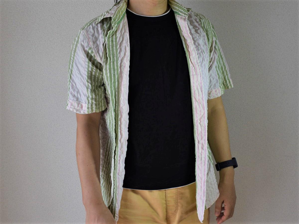 クールニットTシャツ-1