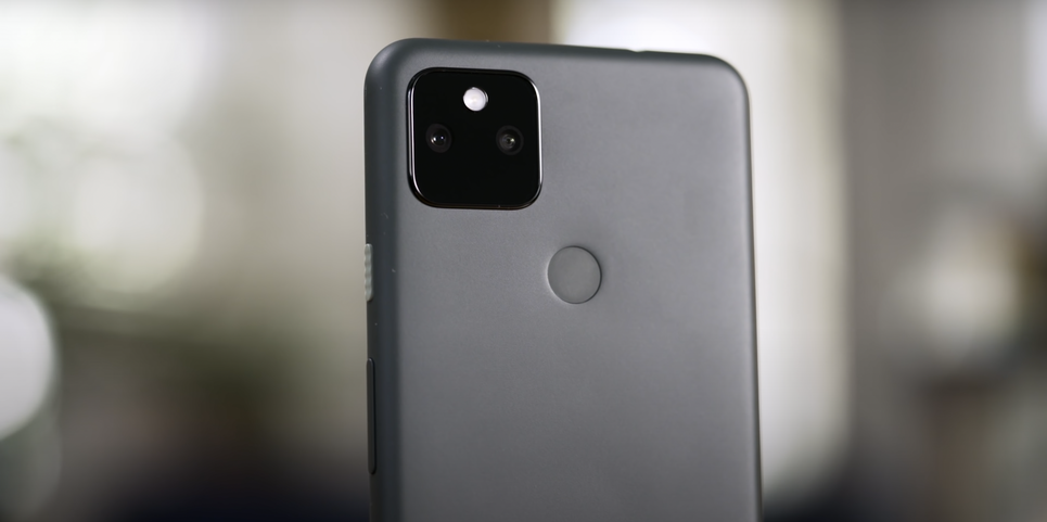 Pixel5aのカメラ部分