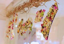 使い捨ての花を美しく再生!圧巻の展示が今だけ伊勢丹新宿店に登場