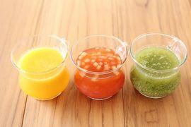 新提案うまみたっぷり、夏野菜のだしジュース