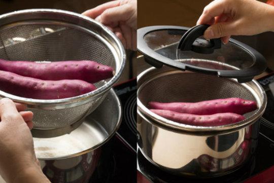あの味をおうちで再現。ほくほく香ばしい、おいしい焼き芋のコツ