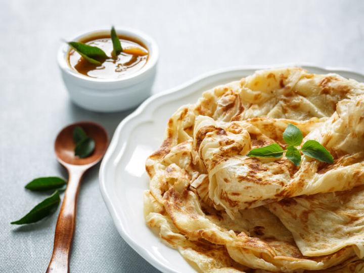 まるでパイのような南インドの絶品主食パン「ポロッタ」の作り方