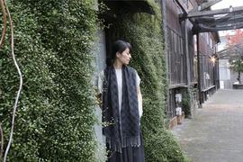 古い織り機と天然素材が出会い生まれた独創的な魅せる今治ストール