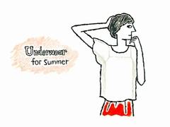 汗を気にせず夏を満喫できるインナー選び【Enjoy Fashion!】